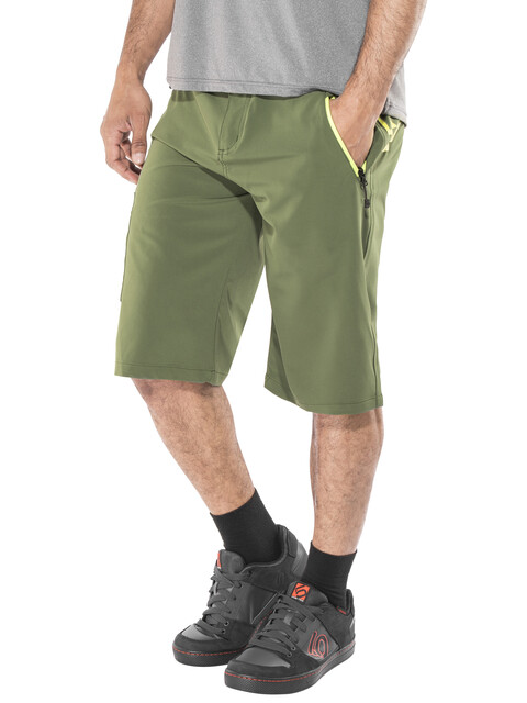 Race Face Trigger Cycling Shorts Men olive